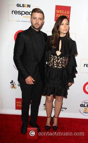 Justin Timberlake , Jessica Biel - 2015 GLSEN Respect Awards at Beverly Wilshire Four Seasons Hotel - Beverly Hills, California,...