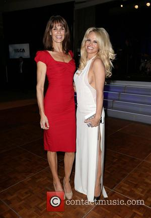Alexandra Paul and Pamela Anderson
