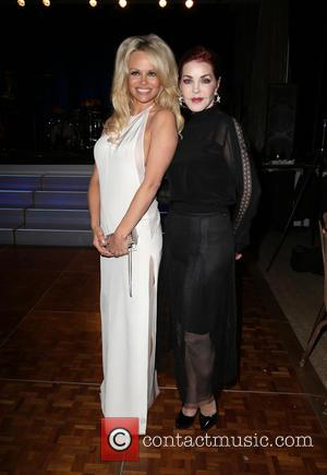 Pamela Anderson , Priscilla Presley - Last Chance for Animals (LCA) Annual Benefit Gala - Inside at Beverly Hilton Hotel...