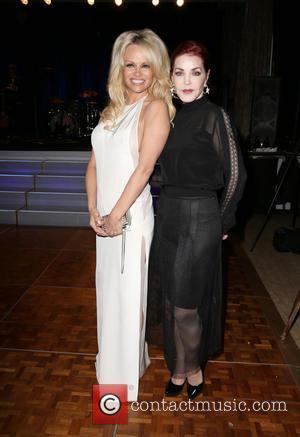 Pamela Anderson and Priscilla Presley