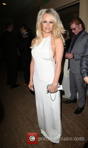 Pamela Anderson - Last Chance for Animals (LCA) Annual Benefit Gala - Inside at Beverly Hilton Hotel - Beverly Hills,...