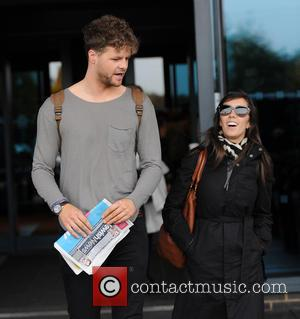 Jay McGuiness , Janette Manrara - Strictly Come Dancing cast leave their hotel ahead of the live show. at Strictly...