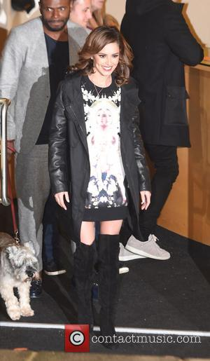 Cheryl Fernandez Versini , c - X Factor judges leaving Fountain studios in London at x factor - London, United...