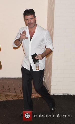 Simon Cowell - X Factor judges leaving Fountain studios in London at x factor - London, United Kingdom - Saturday...