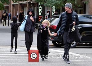 Liev Schreiber, Naomi Watts, Alexander Schreiber and Samuel Schreiber