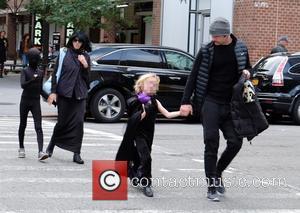Liev Schreiber, Naomi Watts, Alexander Schreiber , Samuel Schreiber - Liev Schreiber, Naomi Watts and their two boys are all...