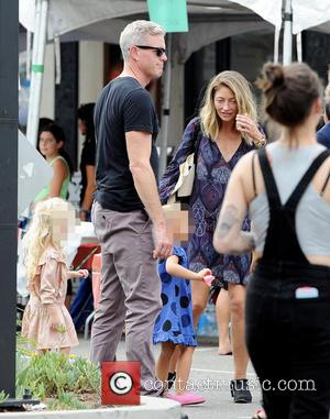 Rebecca Gayheart, Eric Dane , Georgia - Actress Rebecca Gayheart enjoys a sunday afternoon with husband Eric Dane and their...