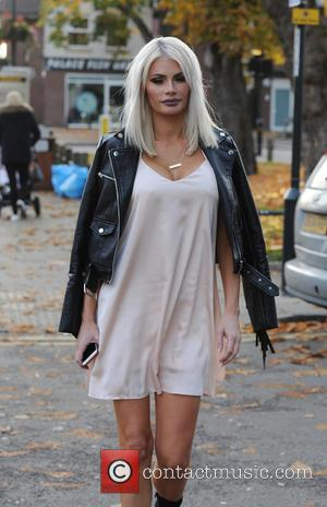 Chloe Sims - The cast of 'The Only Way is Essex' film a pie and mash night at Luxe nightclub...