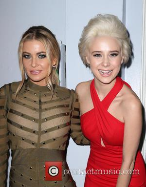 Carmen Electra , Alessandra Torresani - 2015 International Fashion Film Awards_Inside at Saban Theatre - Beverly Hills, California, United States...