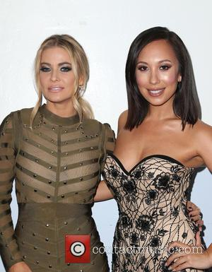 Carmen Electra , Cheryl Burke - 2015 International Fashion Film Awards_Inside at Saban Theatre - Beverly Hills, California, United States...