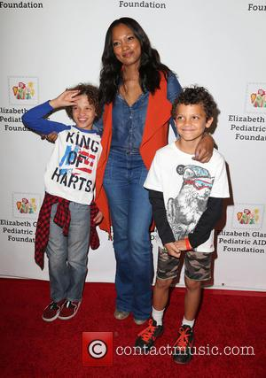 Garcelle Beauvais, Jaid Thomas Nilon , Jax Joseph Nilon - The Elizabeth Glaser Pediatric AIDS Foundation 26th Annual Time For...