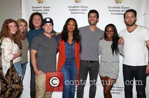 Bridgett Casteen, Dot-marie Jones, Garcelle Beauvais, Justin Baldoni and Jonathan Sadowski