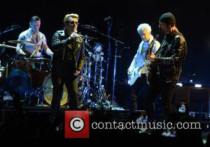 U2, Bono, Adam Clayton, The Edge, Larry Mullen and Jr