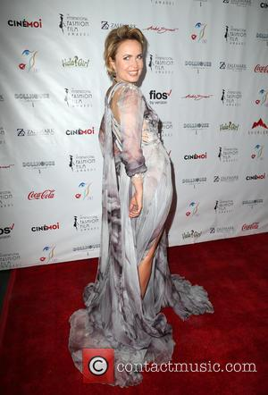 Radha Mitchell - 2nd Annual International Fashion Film Awards held at the Saban Theatre - Arrivals at Beverly Hills -...
