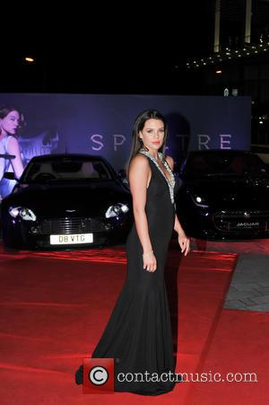 Danielle Lloyd , Michael O'Neill - James Bond Spectre World Premiere held at Royal Albert Hall - Arrivals at Resorts...