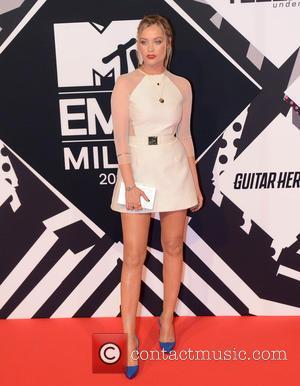 Laura Whitmore - The 2015 MTV EMAs (European Music Awards) held at the Mediolanum Forum in Milan - Arrivals -...