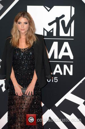 Ashley Benson - The 2015 MTV EMAs (European Music Awards) held at the Mediolanum Forum in Milan - Arrivals -...