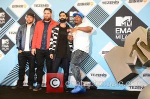 Rudimental - The 2015 MTV EMAs (European Music Awards) held at the Mediolanum Forum in Milan - Arrivals - Milan,...