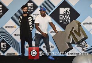 Rudimental, Amir Amor , DJ Locksmith - The 2015 MTV EMAs (European Music Awards) held at the Mediolanum Forum in...