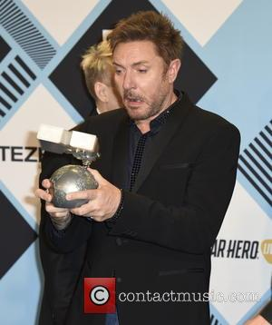 Duran Duran , Simon Le Bon - The 2015 MTV EMAs (European Music Awards) held at the Mediolanum Forum in...