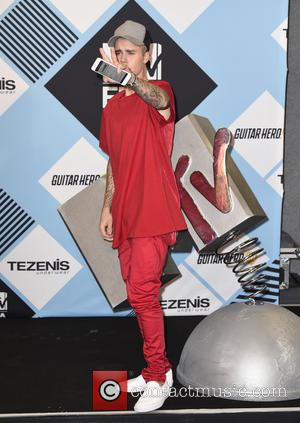 Justin Bieber - The 2015 MTV EMAs (European Music Awards) held at the Mediolanum Forum in Milan - Press Room...