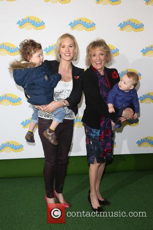Esther Rantzen, daughter , Grandchildren - World Premiere of Teletubbies TV series for CBeebies held at the BFI Southbank -...