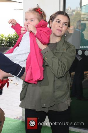 Imogen Thomas , daughter Ariana - World Premiere of Teletubbies TV series for CBeebies held at the BFI Southbank -...