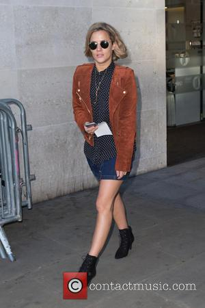 Caroline Flack - Caroline Flack pictured leaving the Radio 1 studio after appearing as a guest on the Nick Grimshaw...