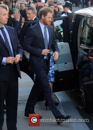 Prince Harry - Duke and Duchess of Cambridge and Prince Harry leave BAFTA on Piccadilly after attending a Childrens Charity...