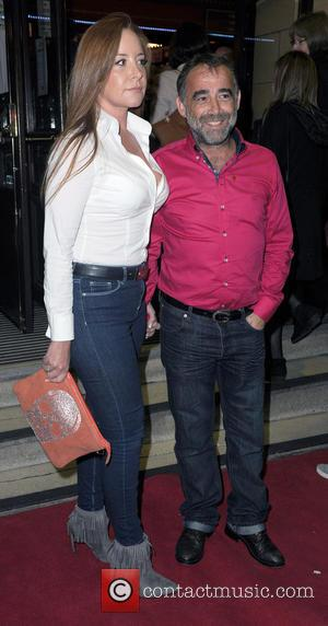 Michael Le Vell and Louise Gibbons