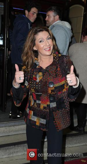 Jane McDonald - Celebrities arrive at the Palace Theatre Manchester for HairSpray    Press Night. at Palace Theatre...