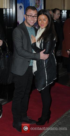 Joe Tracini and Hayley Tamaddon