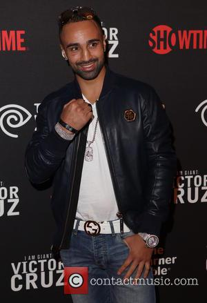 Paulie Malignaggi - Screening of 'I Am Giant: Victor Cruz' at Crosby Street Hotel - Arrivals - New York, New...