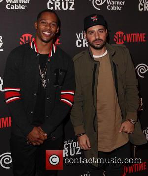 VICTOR CRUZ , Ronnie Fieg - Screening of 'I Am Giant: Victor Cruz' at Crosby Street Hotel - Arrivals -...