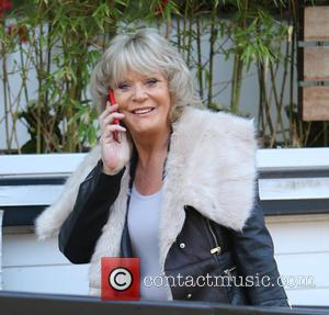 Sherrie Hewson - Sherrie Hewson outside ITV Studios - London, United Kingdom - Monday 26th October 2015