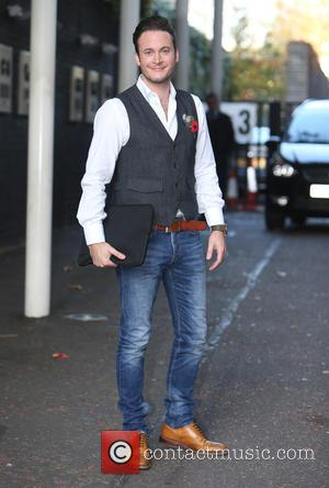 Gary Lucy - Gary Lucy outside ITV Studios today - London, United Kingdom - Monday 26th October 2015