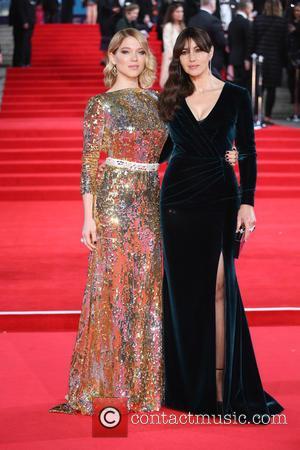 Léa Seydoux , Monica Bellucci - James Bond Spectre World Premiere held at Royal Albert Hall - Arrivals at Royal...