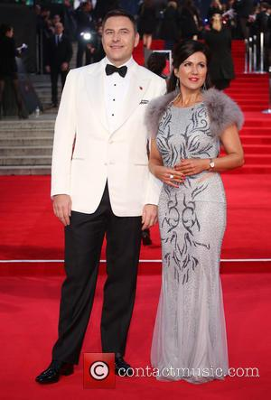 David Walliams , Susanna Reid - James Bond Spectre World Premiere held at Royal Albert Hall - Arrivals at Royal...