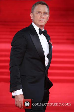 Daniel Craig - James Bond Spectre World Premiere held at Royal Albert Hall - Arrivals at Royal Albert Hall -...