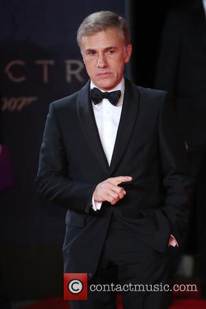 Christoph Waltz - James Bond Spectre World Premiere held at Royal Albert Hall - Arrivals at Royal Albert Hall -...