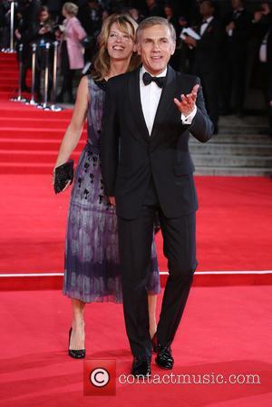 Christoph Waltz , Judith Holste - James Bond Spectre World Premiere held at Royal Albert Hall - Arrivals at Royal...