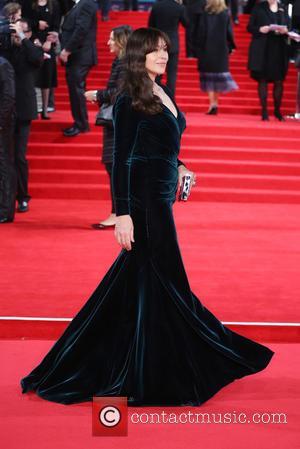 Monica Bellucci - James Bond Spectre World Premiere held at Royal Albert Hall - Arrivals at Royal Albert Hall -...
