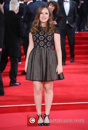 Tanya Burr - James Bond Spectre World Premiere held at Royal Albert Hall - Arrivals at Royal Albert Hall -...