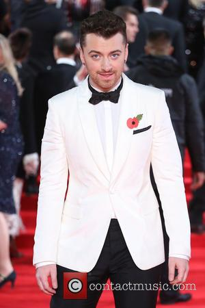 Sam Smith - James Bond Spectre World Premiere held at Royal Albert Hall - Arrivals at Royal Albert Hall -...