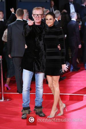 Chris Evans , wife Natasha Shishmanian - James Bond Spectre World Premiere held at Royal Albert Hall - Arrivals at...