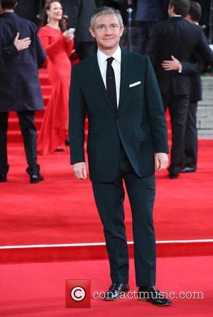 Martin Freeman - James Bond Spectre World Premiere held at Royal Albert Hall - Arrivals at Royal Albert Hall -...