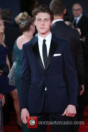 George MacKay - James Bond Spectre World Premiere held at Royal Albert Hall - Arrivals at Royal Albert Hall -...