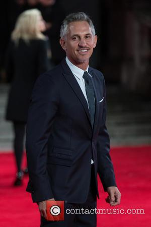 Gary Lineker - CTBF Royal Film Performance(TM) 2015, the World Premiere of 'Spectre' - Arrivals at The Royal Albert Hall...