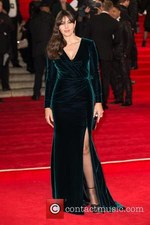 Monica Bellucci - CTBF Royal Film Performance(TM) 2015, the World Premiere of 'Spectre' - Arrivals at The Royal Albert Hall...