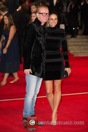 Chris Evans , Natasha Shishmanian - CTBF Royal Film Performance(TM) 2015, the World Premiere of 'Spectre' - Arrivals at The...